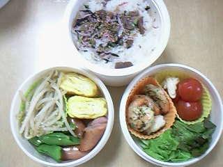 今日のお弁当。